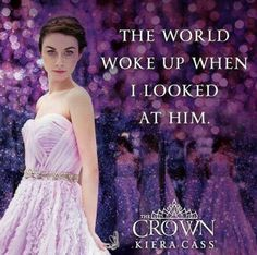 The Crown by Kiera Cass La Sélection Kiera Cass, Kiera Cass Books, Break My Heart, Crown Quotes, The Selection Book, Maxon Schreave, Cartoon Books, Books For Teens, Lectures