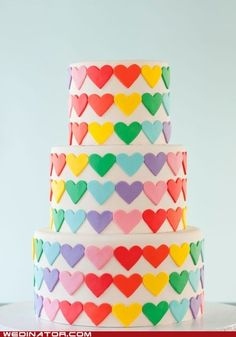 I see their wedding cake baker was a dual effort of Rainbow Brite and the Care Bears.