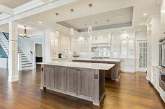 images of kitchens with two islands - Google Search