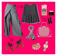 """""""Anna on theatre"""" by arianipermana on Polyvore featuring MANGO, Jean-Paul Gaultier, Michael Kors, Echo Design, Casetify, Dolce&Gabbana, Accessorize, Olivia Burton, women's clothing and women's fashion"""
