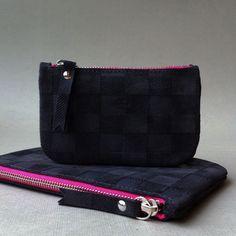 damier leather !#atelierstloup