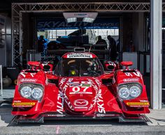 Mazda Prototype Clean Diesel LMP2 Race Car #SpeedSource #Mazda #RaceCar #LeMans #LagunaSeca