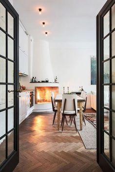 Fireplace goals.