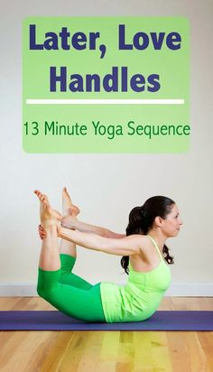 13-Minute Yoga Sequence to Trim Down Tummy.