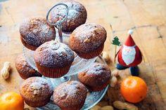 Erdnuss Mandarine Muffins, Rezept, backen, Weinachten, Nikolaus, schnell, einfach, Muffins, Breakfast, Food, Bakken, Simple, Recipies, Morning Coffee, Muffin, Essen