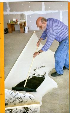 """Yuyo Noé , allways discovering and making materials and tools & searching for new adventures & ways to paint. He defines himself as """"a fanatic"""". New Adventures, Kids Rugs, Painting, Blessings, Studios, Home Decor, Patterns, Digital, Videos"""