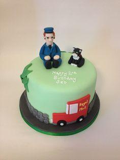 Postman pat cake - easier to do the van in 2D than 3D?
