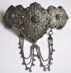 Armenian buckle Jewish full - probably 17th / 18th c (Archives sold Singkiang)