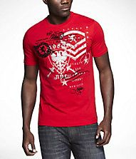 i like the look of this red graphic tee