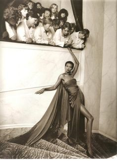 1989 Amalia in YSL in Vogue