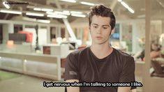 Dylan O'Brien confiesa que se pone nervioso al hablar con una chica que le gusta