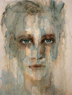 """No soy muy afisionada de la acuarela, pero en esta pintura en particular me connota demasiado. Fiona Maclean; """"Tarquin"""""""