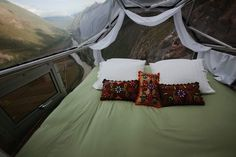 The Skylodge Adventure Suites on the Sacred Valley of Cusco
