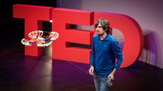 At University I found it really helpful to watch TED Talks when researching topics. This has continued following graduation too. I happened upon a particular talk by Sergei Lupashin, the Founder of Fotokite.