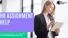 HR assignments help will be conducted and solved by Best Assignment Experts and we can give the assurance that some of our professionals are from HR background and have adequate knowledge to solve the assignments. The professionals or the writers will provide relatable solutions that will be consistent and effective for the assignment.