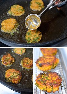 Kale-Sweet potatoe-and-Quinoa-Fritters~A weeknight staple and great for kids!