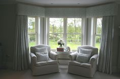 Gorgeous Bedroom Curtains near Farnham by Melanie Downing Interiors