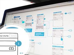 Dribbble - Wires And Flows by Anthony Lagoon App Wireframe, Wireframe Design, Ui Prototyping, User Flow, Journey Mapping, Flowchart, App Design Inspiration, Information Architecture, Design Portfolios