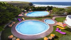 Bedruthan Hotel and Spa, Cornwall, England Places In Cornwall, Cornwall Hotels, Devon And Cornwall, Cornwall England, Best Family Holiday Destinations, Spa Uk, Family Friendly Holidays, Spa Hotel, Vogue