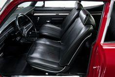 1969 Garnet Red Chevrolet Nova California SS 350 4 Speed V8 | Gear X Head