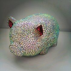 Bling E Bank Piggy Bank by PirateSpirit76 on Etsy, $69.95
