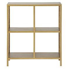 Genevieve Gorder Metal Bookcase | The Land of Nod