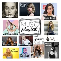 """""""#61 My summer playlist!"""" by andreea-cris ❤ liked on Polyvore featuring art, Summerplaylist and andreea"""