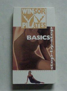 WINSOR PILATES - BASICS: STEP-BY-STEP - MARI WINSOR - VHS - 2002 #WindsorPilates