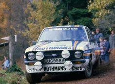 Ari Vatanen, Ford Escort (1981) Ford Sport, Sport Cars, Scott Hansen, Ford Motorsport, Rally Car, Car And Driver, Porsche, Classic Cars, Nostalgia