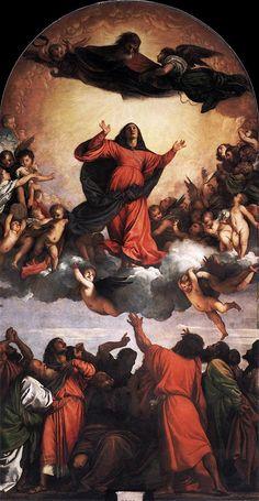 Assunta Autore:Tiziano Data:1516-1518 Dove:Basilica Santa Maria Gloriosa Dei Frari Venezia