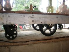 industrial cart.