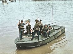 PBRs and STABs in Vietnam with Navy SEALs