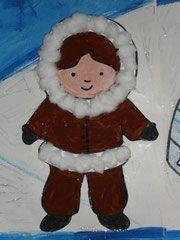 Pôle Nord - lesptitsbricoleurss jimdo page! Handmade Christmas Crafts, Holiday Crafts, Animal Crafts For Kids, Art For Kids, Infant Activities, Activities For Kids, Dramatic Play Themes, Artic Animals, Oki Doki