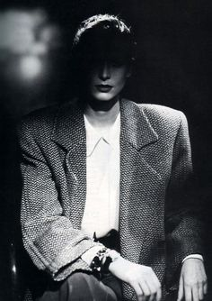 ALdo Fallai - Giorgio Armani Vogue US September 1987