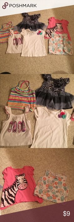 6 baby girl 2 T shirts/blouses 6 baby girl 2 T shirts/blouses in nice condition bundle # 200 Shirts & Tops