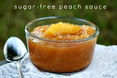 Sugar Free Peach Sauce is  great by the spoon and also on pancakes, ice cream and in smoothies!