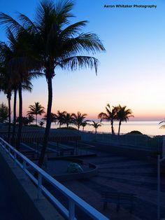 Before Sunrise  - Photo by Aaron Whitaker (Hallandale Beach, Florida)