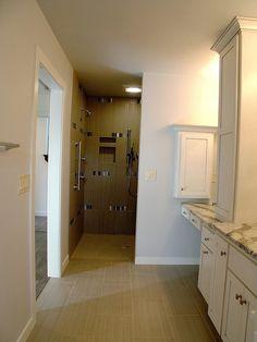 #Bathroom #BathroomCabinets #BathroomLighting #Shower #Sink