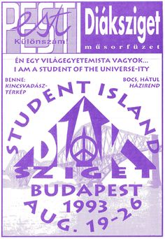 'Budapest, Student Island 1993 Euro Woodstock, flyer, vintage' Sticker by Alma-Studio Student Discounts, Festival Posters, Skin Case, Woodstock, Hungary, Art Boards, Ipad Case, Decorative Throw Pillows, Euro