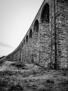 https://flic.kr/p/Q3MHfb | Overhead Lines | Ribblehead Viaduct, Yorkshire.   #Architecture #Mono #Photography  www.richardsugden.com  © Richard Sugden 2016 All rights reserved.