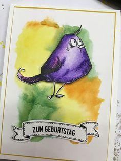 Koboldwerkelei Karte CrazyBirds Geburtstagskarte StampinUP