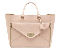 Mulberry_Oversized Willow Tote Classic Calf Nude