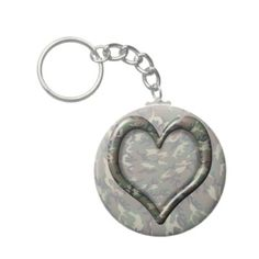 sold! #Camouflage Woodland Forest Heart Keychain by #Camouflage4you shipping to Sebewaing, MI