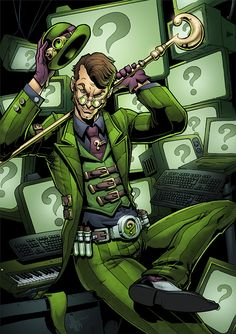 the riddler batman comic The Riddler, Batman Riddler, Im Batman, Gotham Batman, Batman Stuff, Batman Robin, Batwoman, Nightwing, Batgirl