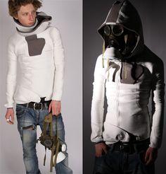 Cyberpunk hoodie.