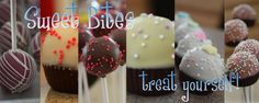 Tons of cake pop ideas