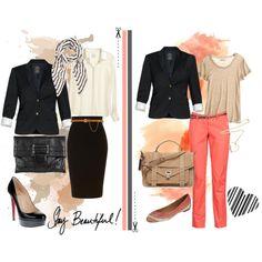 We love black blazers!, created by snow-white-in-wonderland