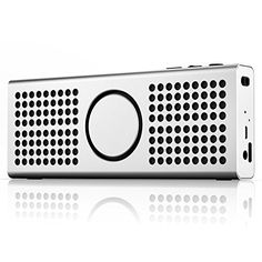 CB3 ULTRA SLIM Premium Wireless Bluetooth Speaker Silver *** Check this awesome product by going to the link at the image.