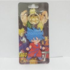 Dragon Ball Z Keychain Super Saiyan Goku Fashion Cartoon Anime Car Keychain PVC Action Figure Toys Silicone Pendant
