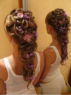 Rapunzel hair....for the South indian part if anyone can do this for me on my wedding day i will love you forever!!!!